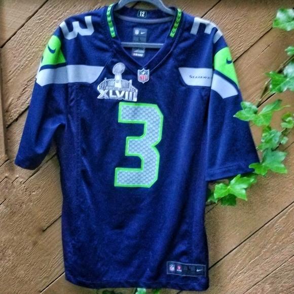 Nike NFL Seattle SEAHAWK Limited edition Jersey #3